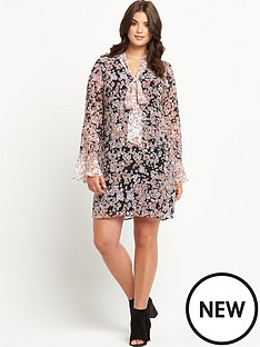 so-fabulous-floral-contrast-print-pussy-bow-dress-14-28