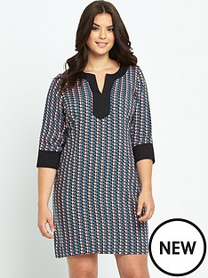 so-fabulous-geo-print-tunic-dress