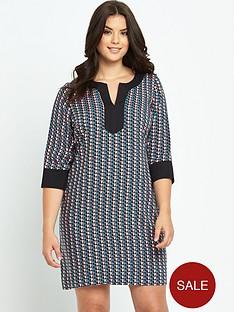 so-fabulous-geo-print-tunic-dress