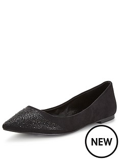 carvela-miley-pointed-flat