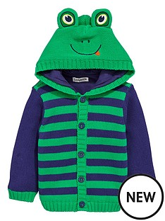 ladybird-baby-boys-knitted-animal-hood-cardigan