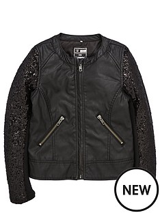 name-it-girls-pu-sequin-biker-jacket