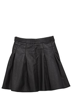 name-it-girls-pu-pleated-skirt