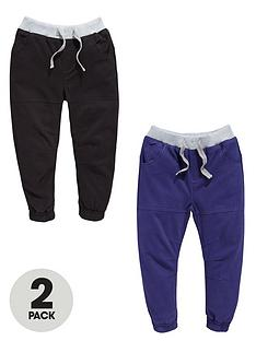 ladybird-boys-twill-cuffed-trousers-2-pack