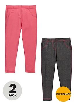 ladybird-girls-jersey-jeggingsnbsp2-pack