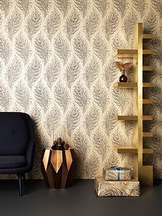 artisan-quill-gold-wallpaper