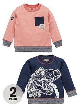 ladybird-boys-dino-sweaters-2-pack