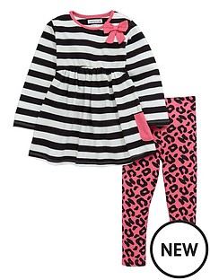 ladybird-toddler-girls-jersey-dress-amp-legging-set
