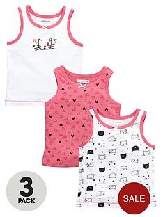 ladybird-girls-cute-cat-vests-3-pack