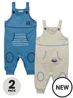 ladybird-baby-boys-2-pk-jersey-dungarees