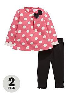 ladybird-baby-girls-polka-dot-sweat-dress-and-leggings-set-2-piece