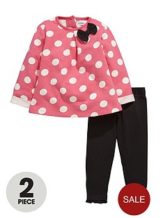 ladybird-baby-girls-polka-dot-sweat-dress-and-leggings-set-2-piece