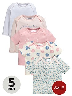 ladybird-baby-girls-short-and-long-sleeve-t-shirts-5-pack