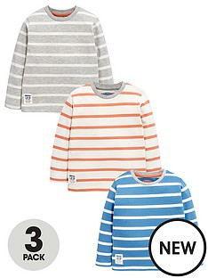 ladybird-boys-long-sleeve-stripe-t-shirts-3-pack