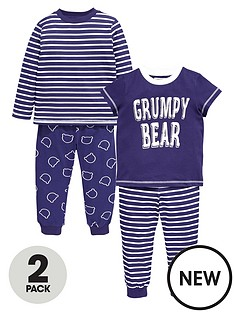 ladybird-boys-grumpy-bear-pyjamas-2-pack