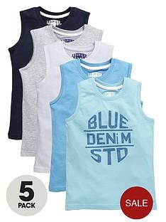 ladybird-boys-vest-tops-5-pack