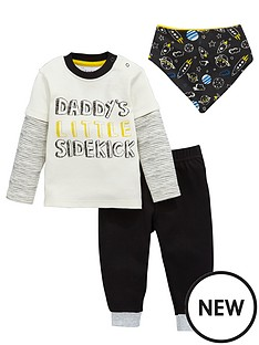 ladybird-baby-boys-galactic-value-set-with-bib