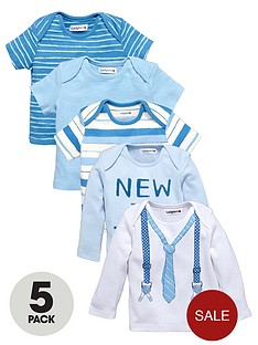 ladybird-baby-boys-long-and-short-sleeve-t-shirts-5-pack