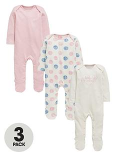 ladybird-baby-girls-princess-sleepsuitsnbsp3-pack