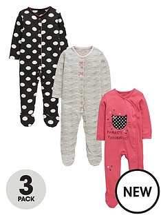 ladybird-baby-girls-kittynbspsleepsuitsnbsp3-pack