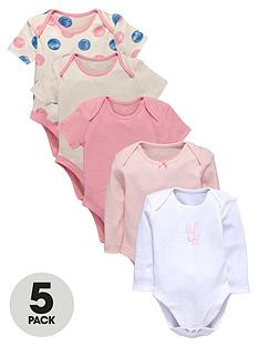 ladybird-baby-girls-long-and-short-sleeved-bodysuits-5-pack