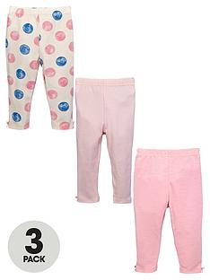 ladybird-baby-girls-print-and-plain-leggings-3-pack