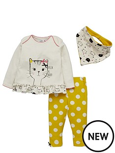 ladybird-baby-girls-kitten-top-leggingsnbspand-bib-set-3-piece