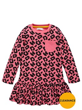 ladybird-girls-essentials-animal-print-dress