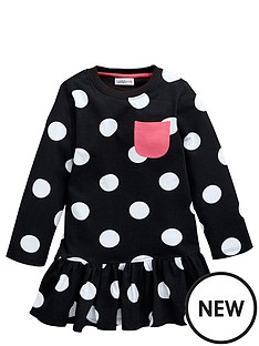 ladybird-girls-essentials-big-spot-dress