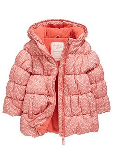 ladybird-girls-star-print-wadded-and-fleece-lined-coat