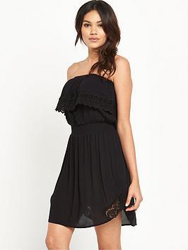 resort-crochet-trim-bandeau-beach-dress