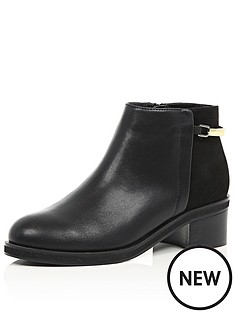 river-island-flat-harness-trim-boot