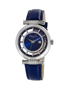kenneth-cole-kenneth-cole-blue-transparent-dial-crystals-stainless-steel-case-with-leather-strap-ladies-watch