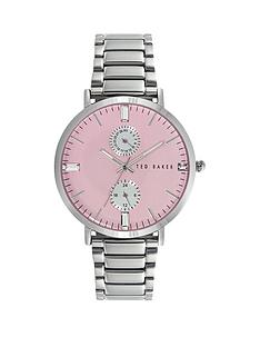 ted-baker-ted-baker-pink-multifunction-dial-stainless-steel-case-and-ladies-watch