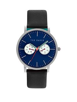 ted-baker-ted-baker-multifunction-blue-dial-with-black-leather-strap-mens-watch