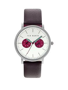 ted-baker-ted-baker-multifunction-silver-dial-with-brown-leather-strap-mens-watch
