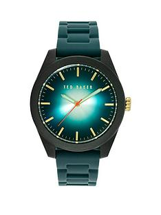 ted-baker-ted-baker-blue-dial-black-carbon-fibre-case-with-blue-silicone-strap-mens-watch