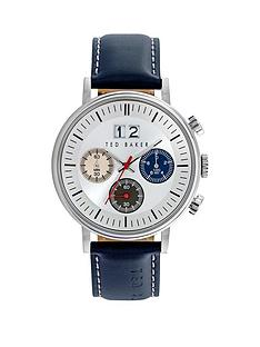 ted-baker-chronograph-white-dial-stainless-steel-case-with-grey-leather-strap-mens-watch
