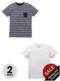 v-by-very-crew-neck-print-and-stripenbspt-shirt