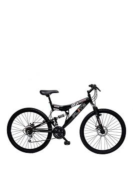 Flite Phaser Ii Dual Suspension Mens Mountain Bike 18 Inch Frame