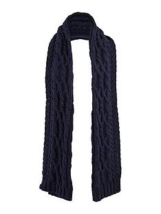 warehouse-cable-knit-scarf