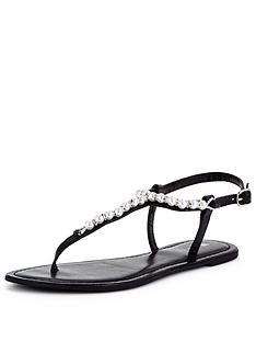 v-by-very-carlisenbsppearl-trim-toepost-flat-sandal