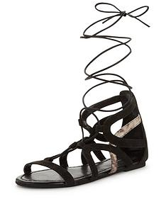 v-by-very-eton-ghille-tie-up-suede-sandal-black