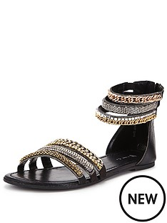 v-by-very-providence-embellished-grecian-ankle-cuff-sandal-black