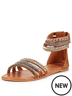 v-by-very-providence-embellished-grecian-ankle-cuff-sandal-tan