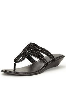 v-by-very-miley-embellished-wedge-sandal-toepost-black