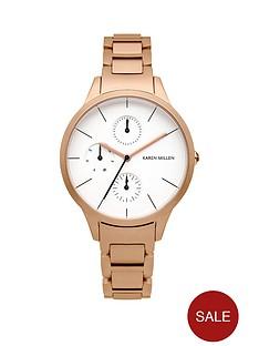 karen-millen-multifunction-white-dial-rose-gold-tone-bracelet-ladies-watch