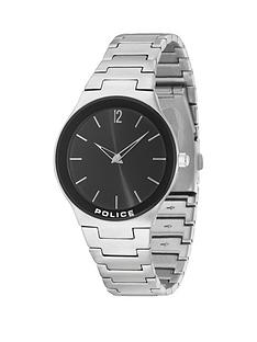 police-police-downtown-black-dial-silver-tone-stainless-steel-bracelet-mens-watch