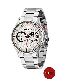 police-driver-chronograph-silver-tone-bracelet-mens-watch