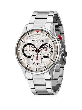 police-driver-chronograph-silver-tone-bracelet-mens-watch
